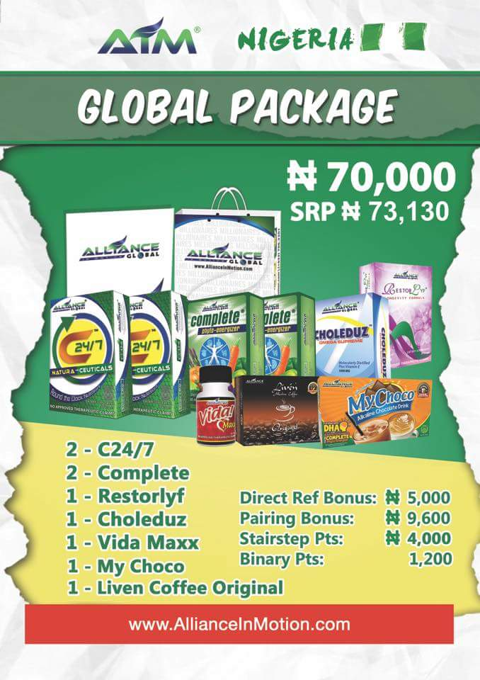 Global Registration Packages