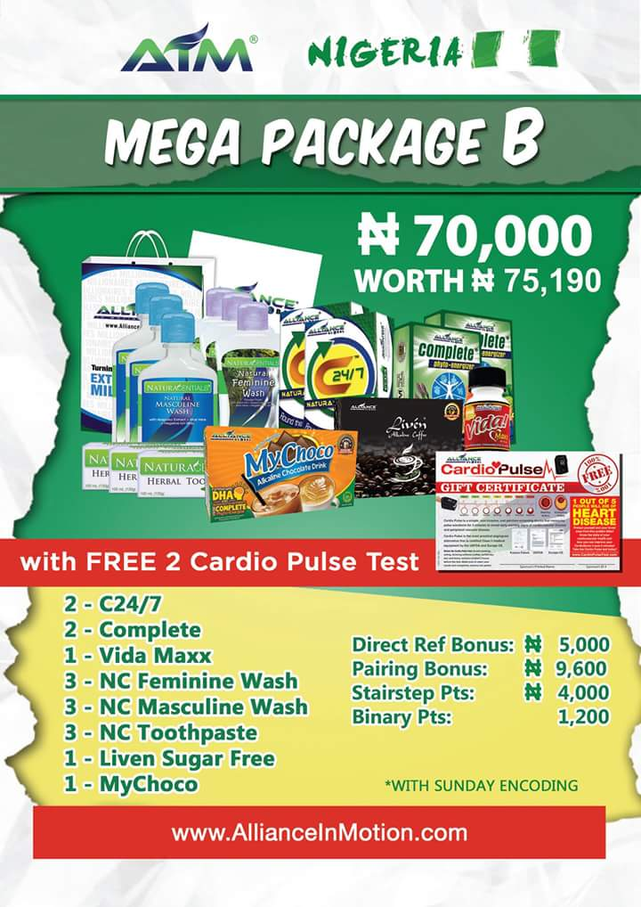 AIM Global Nigeria Packages
